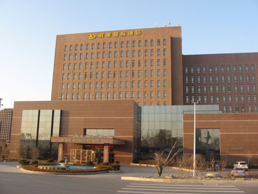 Reise nach Dalian, China, im Dunhao Hotel