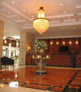Hotelhalle des Marriott in Doha / Qatar