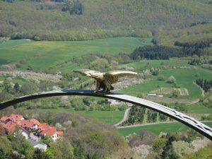 Adler auf dem Adlerbogen