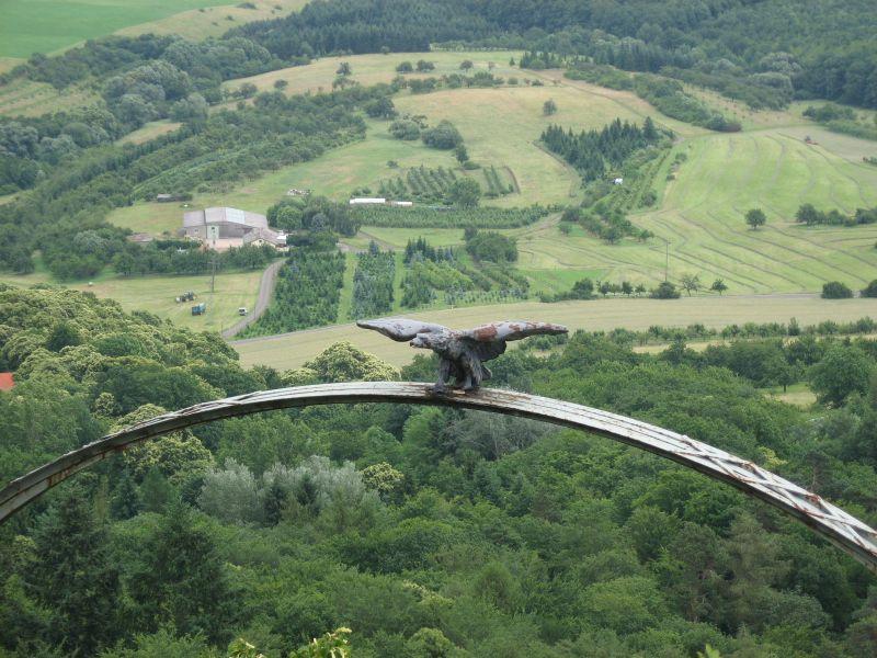 Der Adlerbogen auf dem Donnersberg