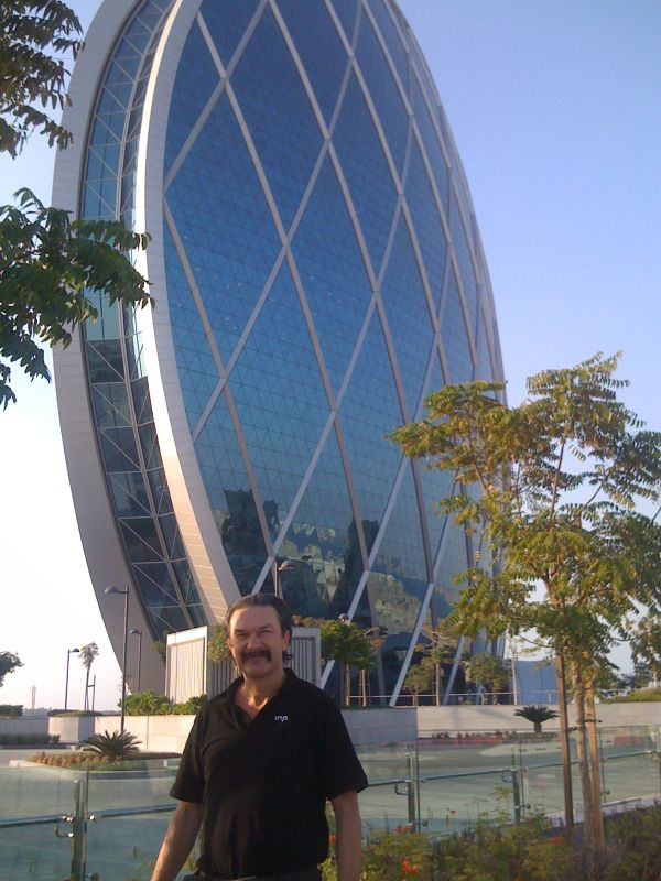 Das Aldar HQ Building in Abu Dhabi