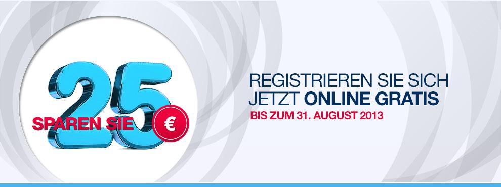Registrieren Sie sich jetzt online gratis und...