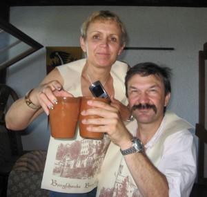 Sylvia & Hans Kellermann beim Rittermal