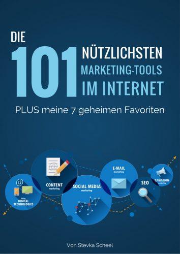 Die 101 nützlichsten Marketing-Tools im Internet