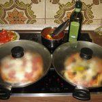Pfannenpizza mit Deckel